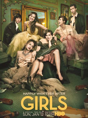 Girls Season 3 Poster Revealed: 'Happily Whatever After'
