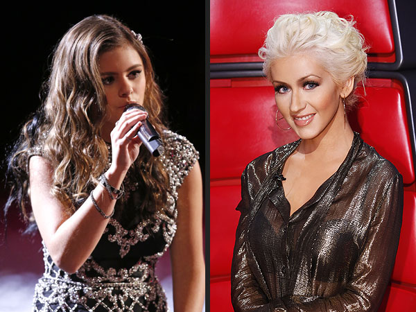 The Voice: Teen Jacquie Lee Channels Coach Christina Aguilera
