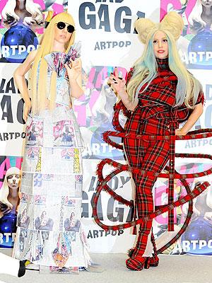 Lady Gaga Dolls Revealed in Tokyo