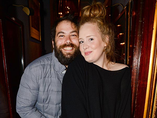 Adele and Fiancé Enjoy Date Night at a Private Lady Gaga Concert