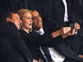Was Michelle Obama Angry About the President's Selfie?