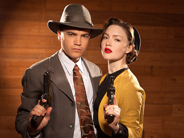 Lifetime's Bonnie & Clyde Stars Emile Hirsch and Holliday Grainger