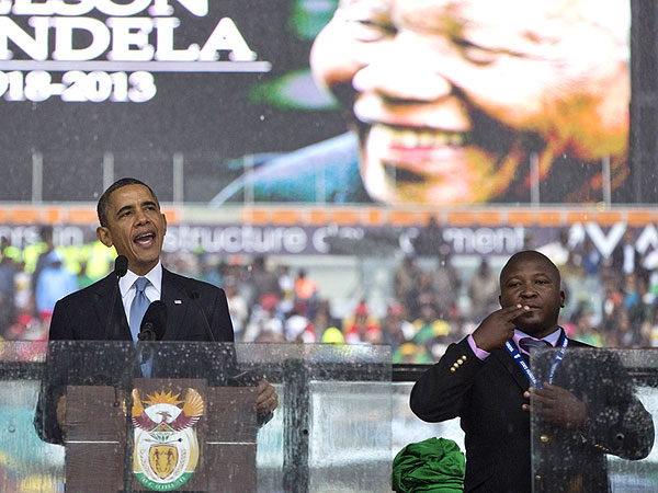 Fake Deaf Intepreter at Mandela Memorial Says He Is Schizophrenic