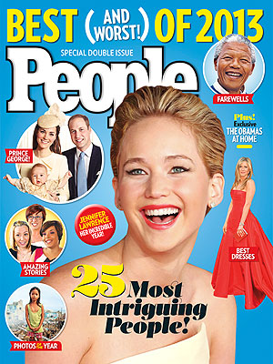 Jennifer Lawrence Is One of PEOPLE's Most Intriguing of the Year