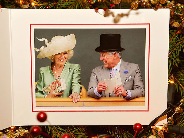 Prince Charles and Camilla Share Happy Holiday Card