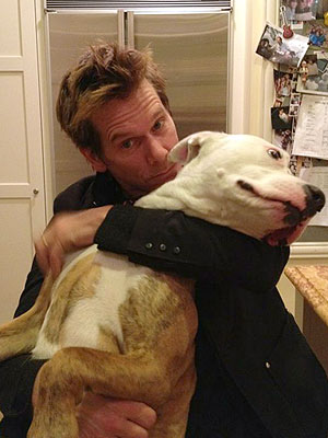 Kevin Bacon Learns Dogs' Pasts with Doggy DNA Test