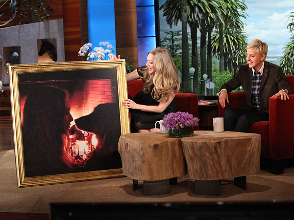 Amanda Seyfried on Ellen DeGeneres, Talks Dog Finn: Video