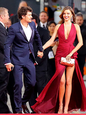 Golden Globes: Miranda Kerr & Orlando Bloom Together Amid Rumors