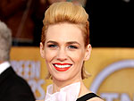 SAG 2013 Hairstyles from Every Angle | January Jones