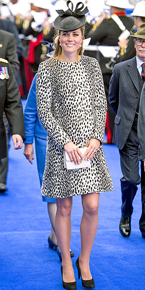 Duchess Catherine's Best Dressed Bump Moments