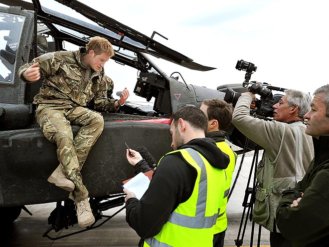 Prince Harry's Tour Duty in Afghanistan