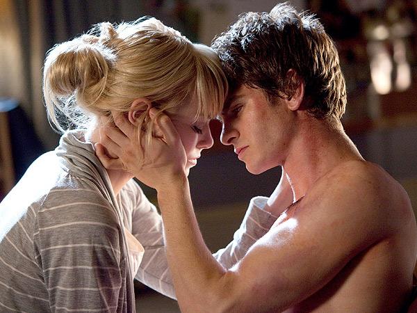 Emma Stone Ribs Andrew Garfield on 'Feminine' Comment