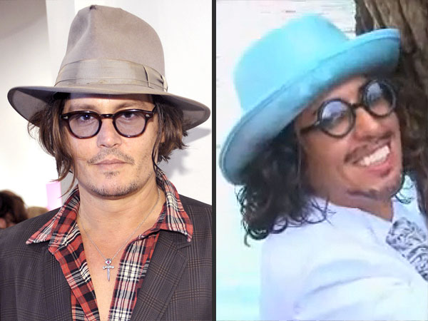 Artist and Johnny Depp Look-Alike Marries Tree For Environmental Awareness