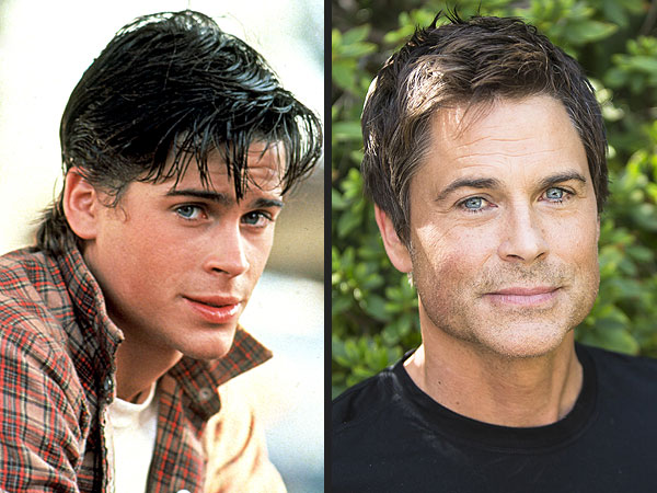 Rob Lowe, almost 50, defies aging by looking forever young in current photos