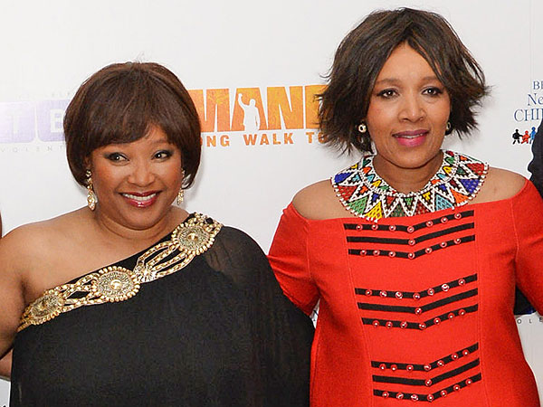 Nelson Mandela Dead: Leader's Daughters Learn of Loss During London Premiere