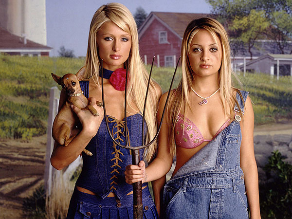 Paris Hilton and Nicole Richie's show The Simple Life is 10 years old