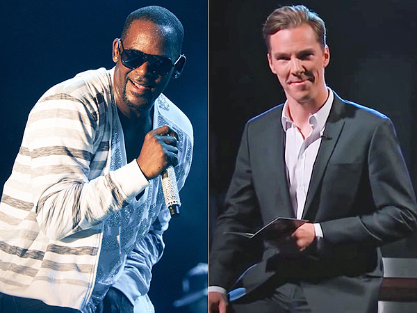 R. Kelly sings Benedict Cumberbatch's lines from Star Trek as revenge