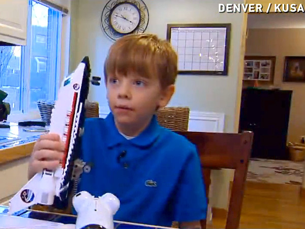 See Why This 6-Year-Old Is Destined for Space Travel
