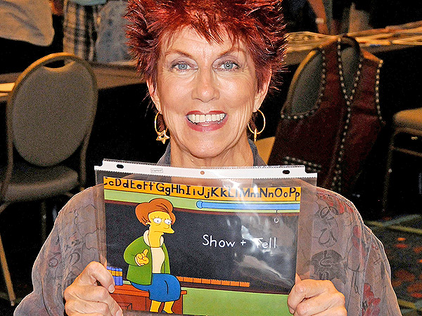 The Simpsons Bids Farewell to Marcia Wallace and Mrs. Krabappel