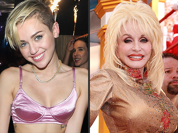Miley Cyrus on Godmother Dolly Parton: She's My Role Model