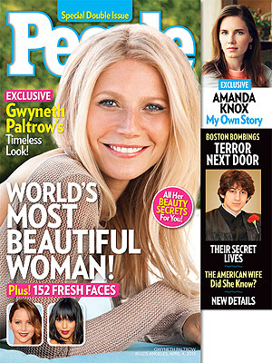 Gwyneth Paltrow Is People Magazine's Most Beautiful Woman