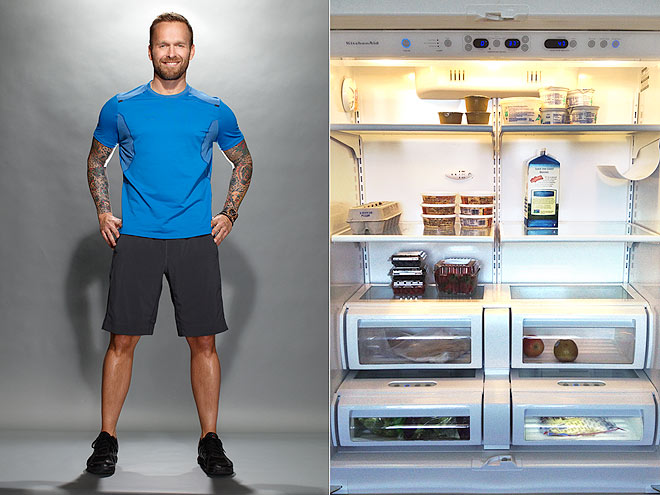 What's in Bob Harper's Fridge?