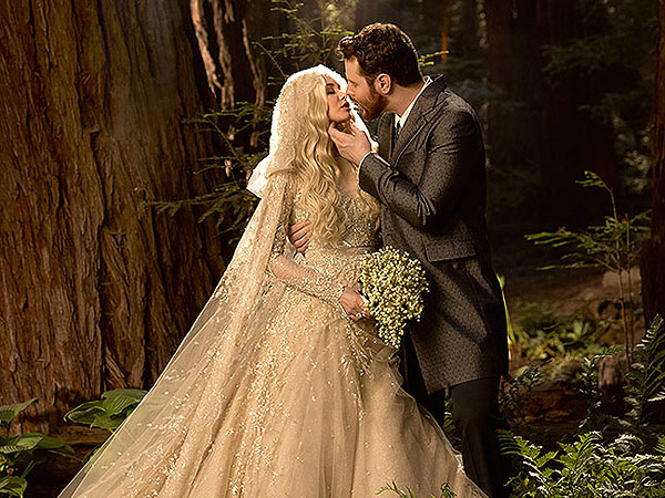 Sean Parker Wedding Photo Revealed