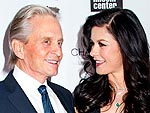 Star Tracks: Star Tracks: Tuesday, April 23, 2013 | Catherine Zeta-Jones, Michael Douglas