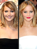 Stars' Day-to-Night Beauty | Jennifer Lawrence
