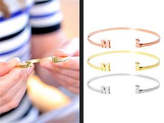 Exclusive Deal: The Initial Bracelet
