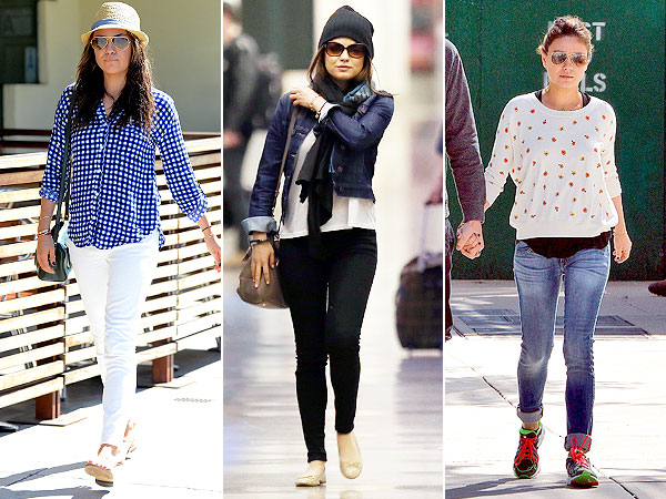 Sneak a Peek at Mila Kunis's Mom-to-Be Style