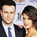 Taran Killam and Cobie Smulders Ex