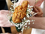Wing It on Prom Night with KFC's Fried Chicken Corsage