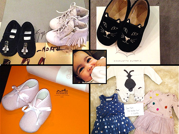 Kim Kardashian's Daughter, North West, Is Gifted Designer Clothes