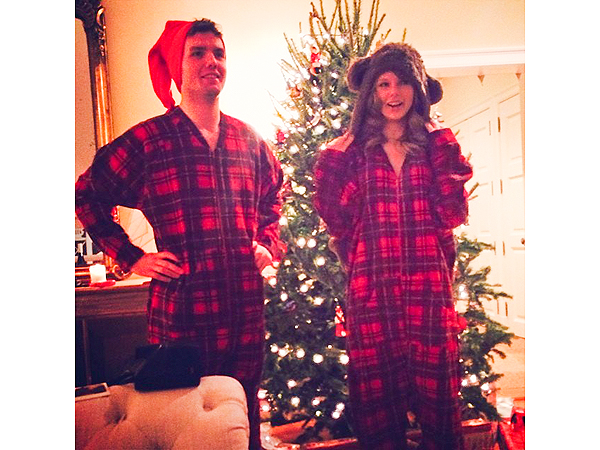 Taylor Swift & Her Brother Sport Matching Onesies