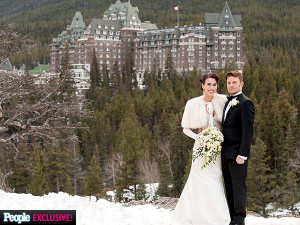 Christy Romano's Romantic Winter Wedding: See the Gorgeous Portrait