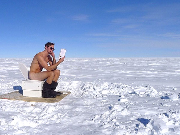 Alexander Skarsgard Strips Down at the South Pole