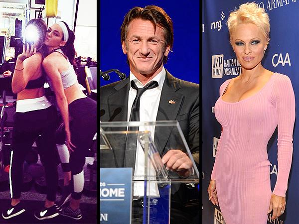 Sean Penn Help Haiti Home Gala, Kim Kardashian Selfie