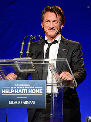 Celebrities Support Sean Penn's Help Haiti Home Gala