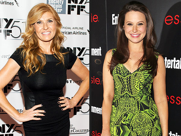 Connie Britton: Scandal's Katie Lowes Was Once My Son's Nanny