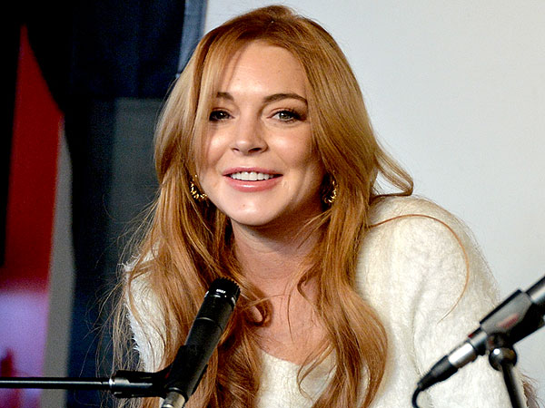 Lindsay Lohan Announces First Post-Rehab Film Role