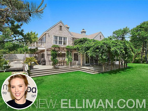 Scarlett Johansson Buys $2.2 Million Home in the Hamptons
