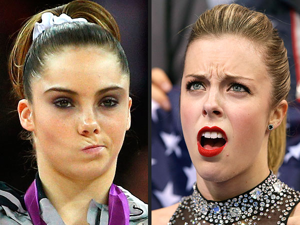 Ashley Wagner's Disappointed Face Achieves Internet Fame