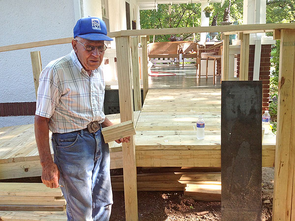 Eugene Westerhouse Builds Wheelchair Ramps for Disabled People