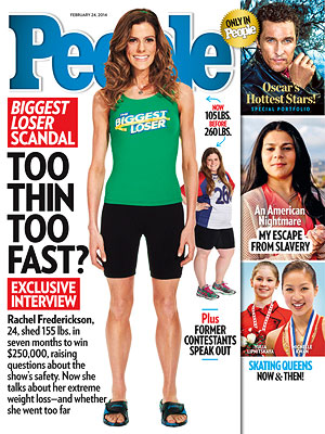 Inside PEOPLE's Interview with Biggest Loser Rachel Frederickson