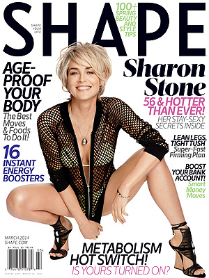 Sharon Stone Opens Up About How She Forced Herself to Accept Aging