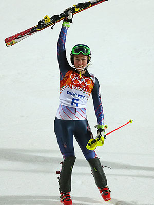 Mikaela Shiffrin Becomes Youngest Olympic Gold Medalist in Slalom Skiing