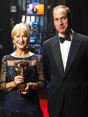 Helen Mirren on Meeting Prince William: He's Nothing Like a Prince