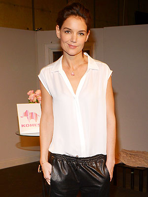 Katie Holmes: 'New York Has Been Good' to Suri and Me