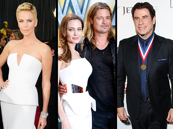 Brad Pitt, Angelina Jolie, John Travolta to Present at Oscars
